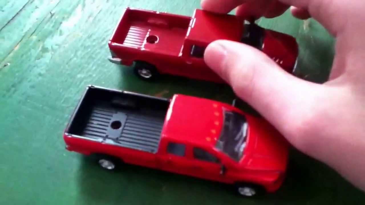 My Ertl Pickup Trucks Youtube