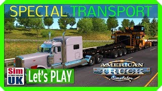 83 TONNES...WOW! American Truck Simulator Special Transport DLC FIRST LOOK (part 5)