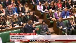 jawaad ashraf wassan house of commons debate uk youth parliament