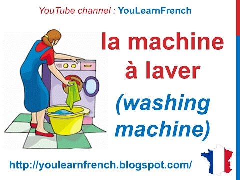 French Lesson 89  Home Appliances  Les Appareils