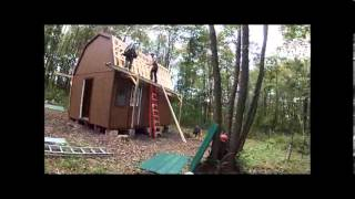 Off Grid Cabin Delivery & Build