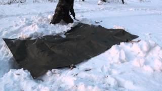 Уроки выживания, укрытие из снега II