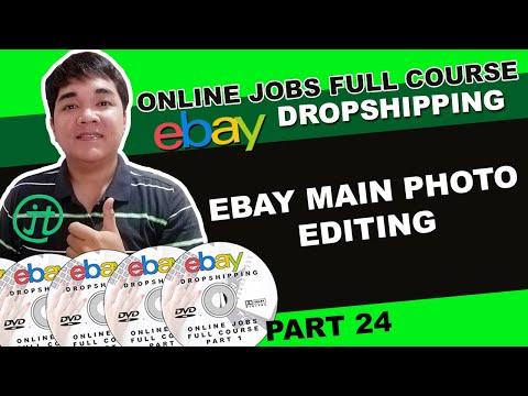 Ebay Main Photo Editing Photoshop Online Jobs Philippines Tutorial Tagalog
