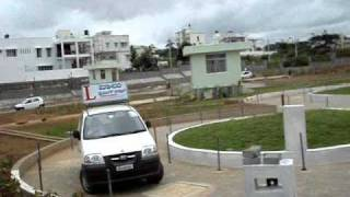 automated driving testing track for driving license issue.wmv