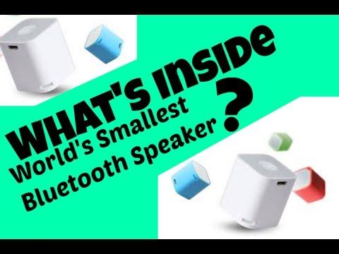 What's Inside World's Smallest Bluetooth Speaker?