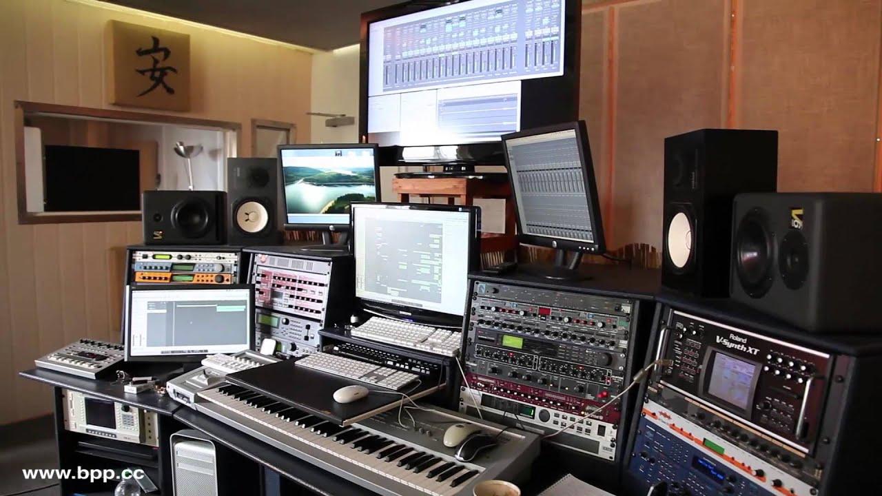 Rundgang im b.p.p. Tonstudio Hamburg - YouTube