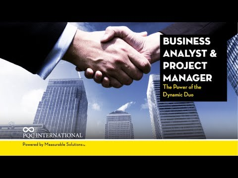 PQC International: Business Analyst and Project Manager The Power of the Dynamic Duo