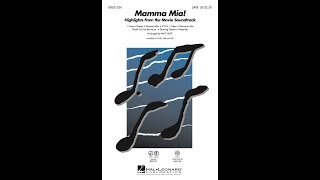Mamma Mia! (Highlights from the Movie Soundtrack) (SATB) - Arranged by Mac Huff