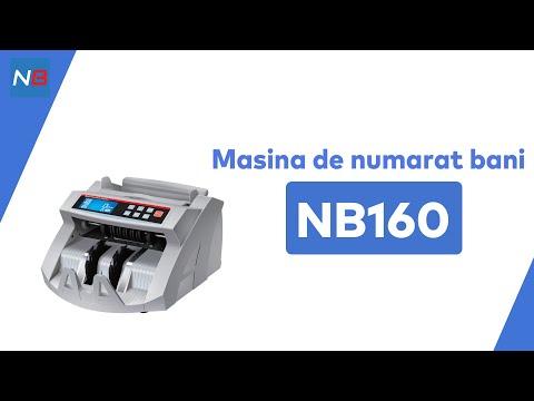 Masina de numarat bancnote NB160 - cu detectie UV
