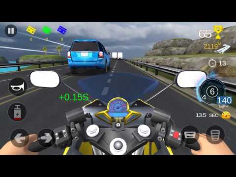 Racing Fever Moto Racing - Gameplay Android Game - Highway Racing Motorcycle Games