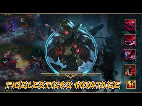 Fiddlesticks Montage S10 - Best Fiddle Plays & Tips - Satisfy Kill moments - League of Legends - #2