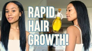 5 Best Oils For FASTER Hair Growth 🙌🏽