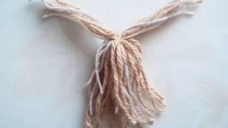 Собака из ниток/ The dog from the thread