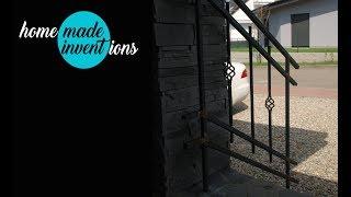 DIY ornamental wrought iron railings part 2