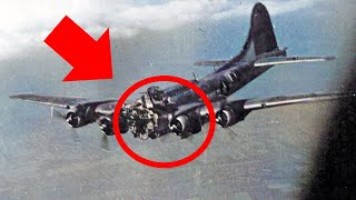 A German Pilot Stopped Fighting to Save a Damaged American B-17