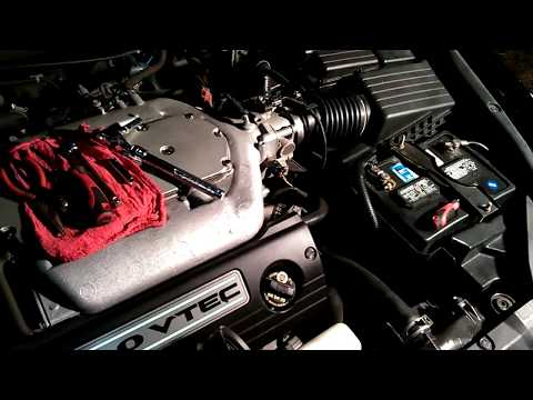 How to replace air intake tube 2003-2007 Honda accord 3.0 v6