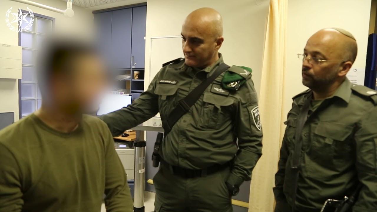 ביקור ממ''ר ירושלים פצועי פיגוע ברחוב הגיא. צילום: דוברות המשטרה