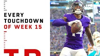 Every Touchdown from Week 15 | NFL 2018 Highlights