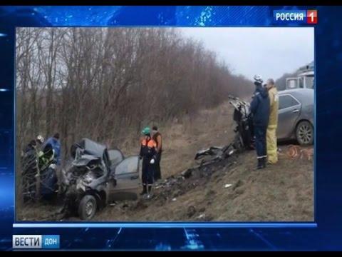 """ДТП на трассе """"Котельниково — Песчанокопское"""" унесло жизни троих"""