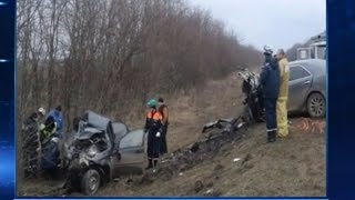 ДТП на трассе Котельниково Песчанокопское унесло жизни троих
