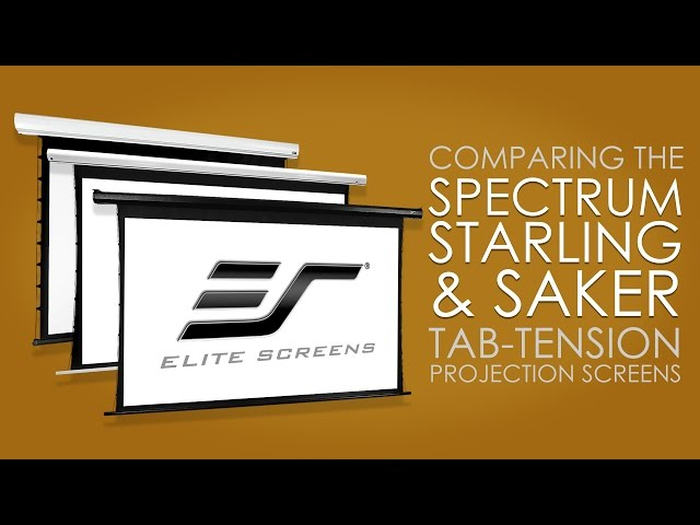 Spectrum Tab-Tension, Starling Tab-Tension, and Saker Tab-Tension Comparison