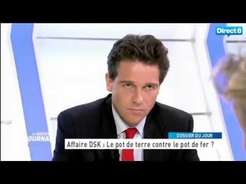 French Lawyer Avocat International Pierre Hourcade Direct 8 TV Paris France.mp4