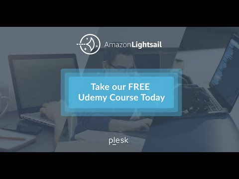 Plesk on Amazon Lightsail Udemy Course