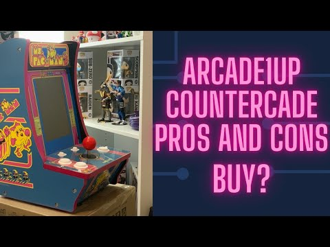 Arcade1up countercade Pros and Cons. Buy? from Average Gamer