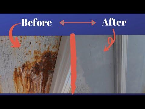 Reparing The Outisde Metal Rust - Above Ground Pool Rustoleum Primer