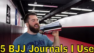 How to Use A BJJ Journal ( 5 Journals I Use for Jiujitsu )