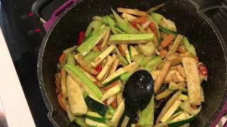 Рецепт тигровые креветки мидии овощи со специями
