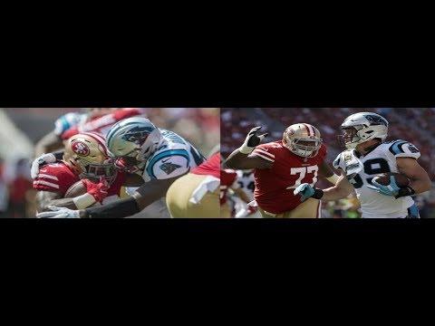 Thomas Davis & Luke Kuechly vs 49ers (NFL Week 1) - Two Greats! | 2017-18 NFL Highlights HD