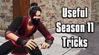 Eleven Useful Tricks To Learn For Season 11! - Fortnite Battle Royale