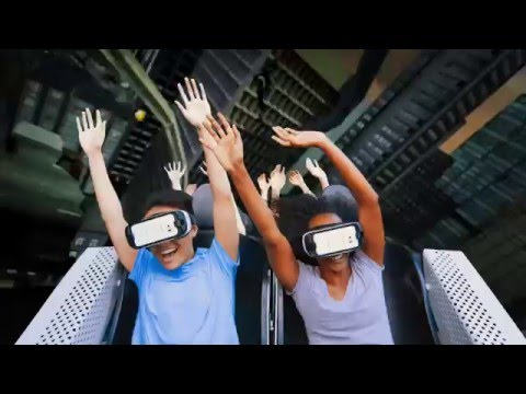 Virtual Reality is Coming to The New Revolution at Six Flags