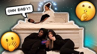 Spending The Night In Other YouTuber's Room! *INTENSE* (RISS & QUAN)   VLOGMAS DAY 17