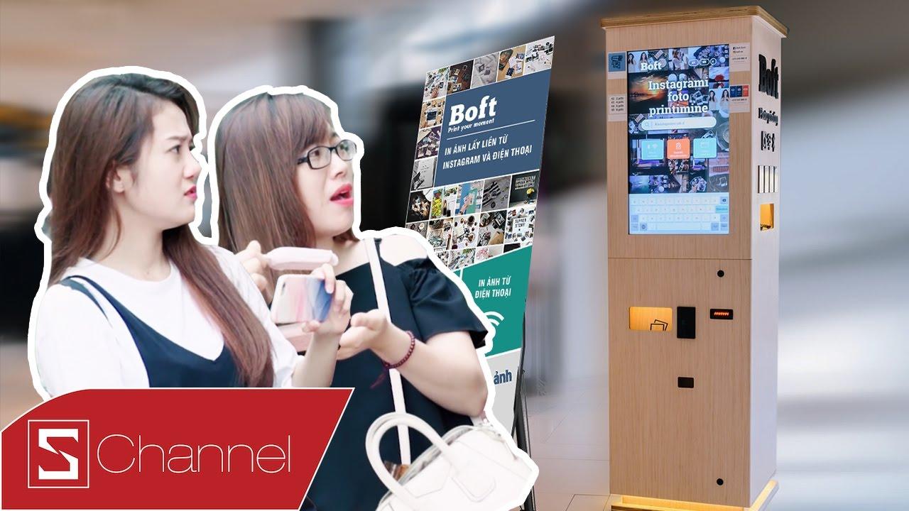 Schannel - Dùng thử máy in ảnh tự động Boft, in ảnh Polaroid dễ dàng từ Instagram, Wifi.