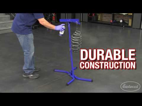 Paint & Powder Coating Stand - Hang From Detachable Arm Or Clamp An Oven Rack For Coating Parts!