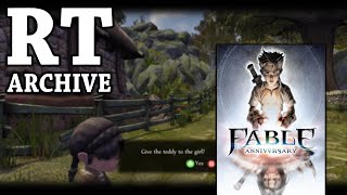 RTGame Archive:  Fable Anniversary