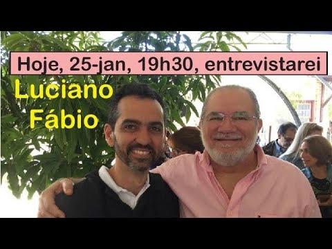 Entrevista de Luciano Fábio no Canal de Jacob Melo