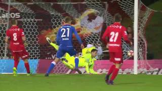 Góly SK Slavia v Brně   1iga   19.10.2016   Brno - Slavia 1:4