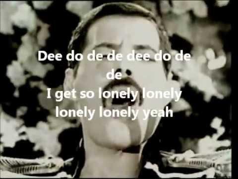 Freddy Mercury - Living on my own con testo (lyrics)