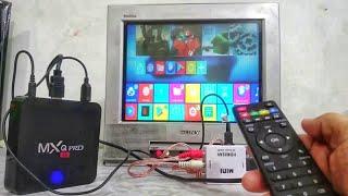 MXQ Pro 4K internet android smart TV BOX