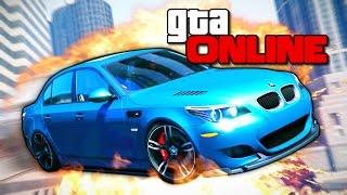 GTA 5 Online (Гонки) - Рампа-Тролль! #162