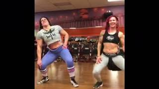 Gabi Garcia Rizin FF and Cris Cyborg UFC dancing with the stars DWTS Brasil Brazil