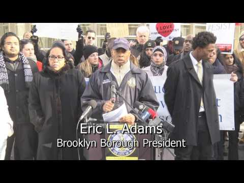 One Brooklyn-- Standing Up Against Banning Migration of Citizens from Muslim-Majority Countries