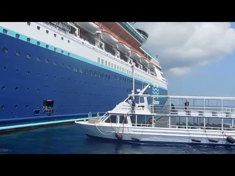 Regreso al Pullmantur Monarch en George Town