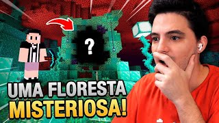 ENCONTREI A MISTERIOSA FLORESTA VERDE DO NETHER NO MINECRAFT #60