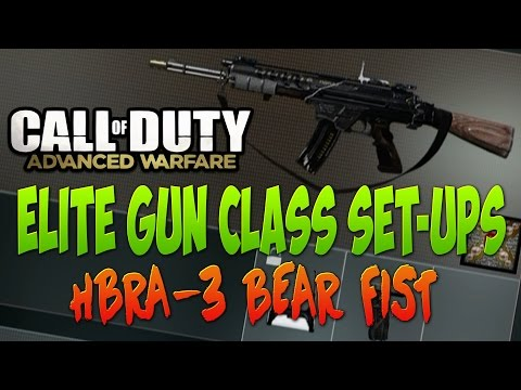 Elite gun class set ups call of duty advanced warfare assault rifle