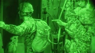82nd Airborne Drops Into Hostile Night Skies