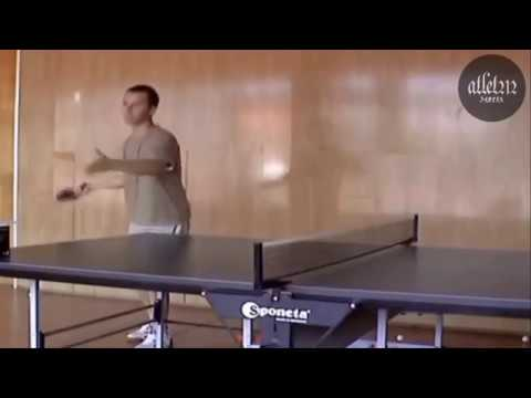 Wow Cara Servis Pimpong Mematikan latihan servis tenis meja